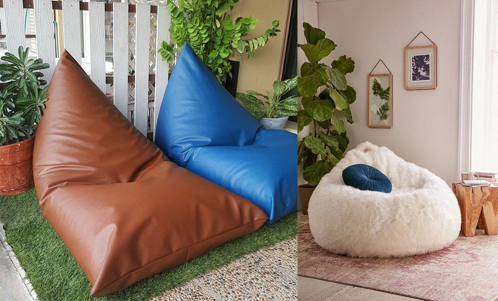 ไอเดียเบาะรองนั่ง ทำมือ เบาะโซฟาบีนแบ็ก (Bean Bag) อเนกประสงค์ รองนั่ง รองหลัง เพื่อสุขภาพ